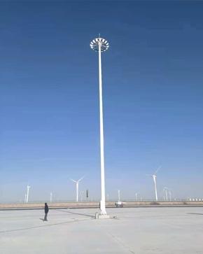 瓜州高速路服务区高杆灯项目