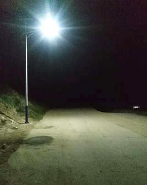 海东乐都区共和乡路灯项目
